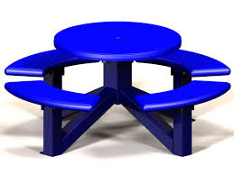 Round Plastic Patio Tables by Tables Patio Picnic And Ada Accessible Tables