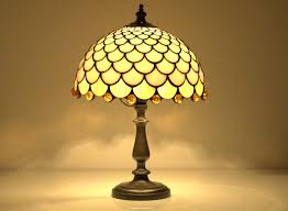 fish scale table lamp 8