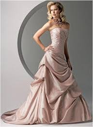 Dusty Rose Wedding Dress Wedding Gowns Pick Up Styles