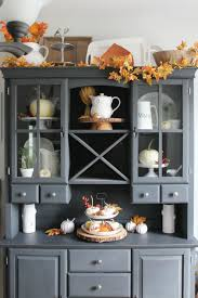 how to decorate your china cabinet 20 inspiring diy rustic fall decor ideas rustic fall decor fall