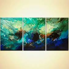 abstract art and colorful paintings for the modern home or office