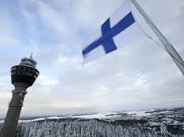 Finnish Flag Finland Stops Russians Buying Land Near Military Sites Amid