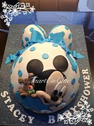 mickey mouse baby shower cake bella u0026emm pops pinterest