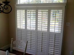 Folding Window Shutters Interior Bi Fold Plantation Shutters For Sliding Glass Doors U2014 Home Ideas