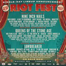 Riot Fest Map Chicago by Gwar On Twitter