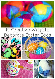 Decorate Easter Eggs Ways To Decorate Easter Eggs The Jenny Evolution Www