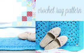 Free Crochet Patterns For Rugs 19 Crochet Rug Patterns Guide Patterns
