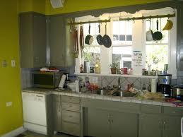 grey and green kitchen green walls grey cabinets spurinteractive com
