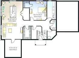 house plans with finished walkout basements finished basement plans optional walk out basement plan image of
