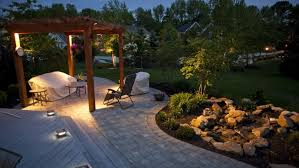 Landscape Lighting Diy Diy Outdoor Lighting Let Led Lights Transform Your Space