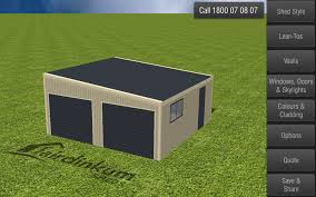 Shed Style Architecture Fair Dinkum Sheds Designer Android Apps On Google Play