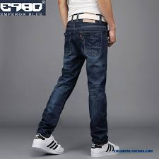 Comfortable Mens Jeans Cheap Retro Slim Straight Men Jeans Youth Clothing Comfortable