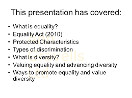 promoting equality and valuing diversity ppt video online download