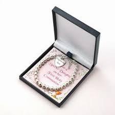 Goddaughter Charm Religious First Communion Cross Necklace For Daughter