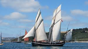 sailing the english channel 18th century style