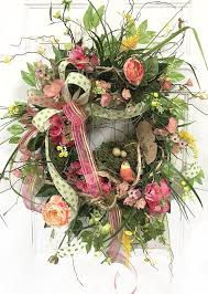 springtime wreaths springtime wreaths for front door spring summer wreath front
