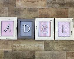 gold wall letters etsy