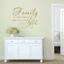 family love quote vinyl wall sticker by mirrorin family love quote vinyl wall sticker