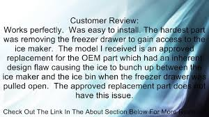 samsung oem original part da97 07603b refrigerator ice maker