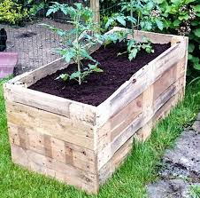 Making A Vegetable Garden Box by Best 25 Pallet Planter Box Ideas On Pinterest Single Wooden