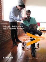 Accenture Laminate Flooring Accenture Optimizing Customer Service Knowledge Management