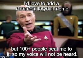Shouting Meme - shouting into the void imgflip
