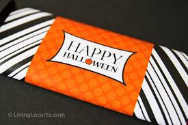 free candy bar wrappers halloween printable