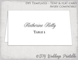 table tent template word place card template tent flat name card templates