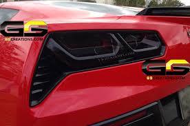 tail light smoke kit c7 corvette rear tail light blackout lens kit smoked covers