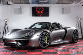 porsche 918 porsche 918 hybrid supercars sales used car brokerage