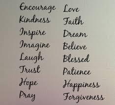 inspirational words live laugh etc