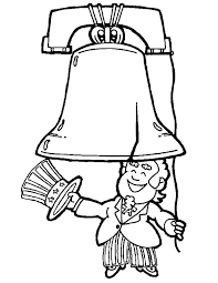 uncle sam start ring liberty bell coloring pages batch