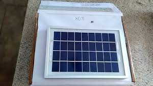 Solar Panel For Street Light by Auto Intensity Controlled Solar Street Light Project Youtube