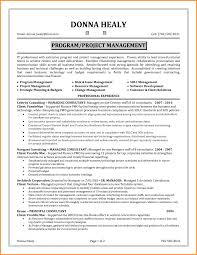 project management resume project management resume skills resume for study