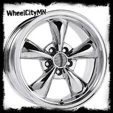 mustang replica wheels 17 x8 chrome ford mustang bullet oe factory replica rims torino