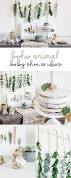 neutral baby shower themes boho animal jar baby shower favors boho studio and babies