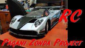 custom pagani update 1 real pagani zonda r aerodynamics custom 1 10 rc exotic