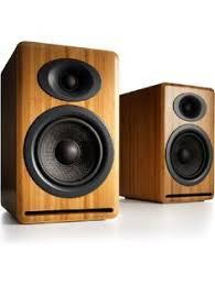 Bookshelf Powered Speakers Audioengine A2 Mini Powered Bookshelf Speakers Black