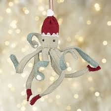 octopus with snowballs ornament snowball ornament and snowball