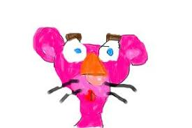 draw pink panther color supermightydrawerinuniverse