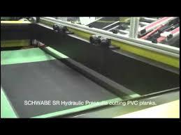 flooring manufacturing efficiency die cutting luxury vinyl