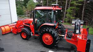 led tractor light bar kubota 5740 oem light replacement video youtube