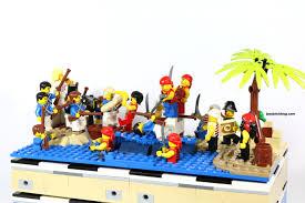 review lego 40158 pirates chess set