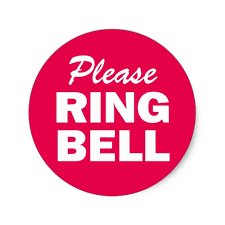 rings bell images Please ring bell sign classic round sticker zazzle ring bell sign jpg