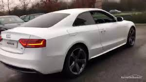yb14tfe audi a5 tdi s line black edition white 2014 wakefield