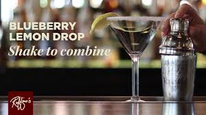 blueberry martini recipe ruffino u0027s how to make a blueberry lemon drop youtube