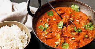 hervé cuisine butter chicken recette de butter chicken et riz parfumé plat indien à base de