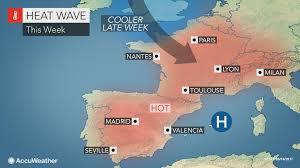 brutal heat to engulf spain france this week