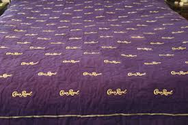crown royal quilt custom made to order man cave quilt
