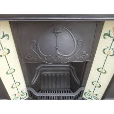 victorian fireplace art nouveau edwardian victorian cast iron